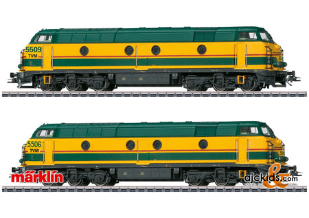 Marklin 37602 - Class 55 Diesel Locomotive as a Double Unit