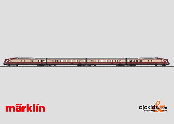 Marklin 37607 - TEE Diesel Powered Rail Car Train in H0 Scale