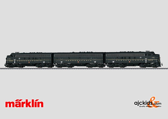 Marklin 37624 - Diesel Electric Locomotive F 7 A-B-A in H0 Scale