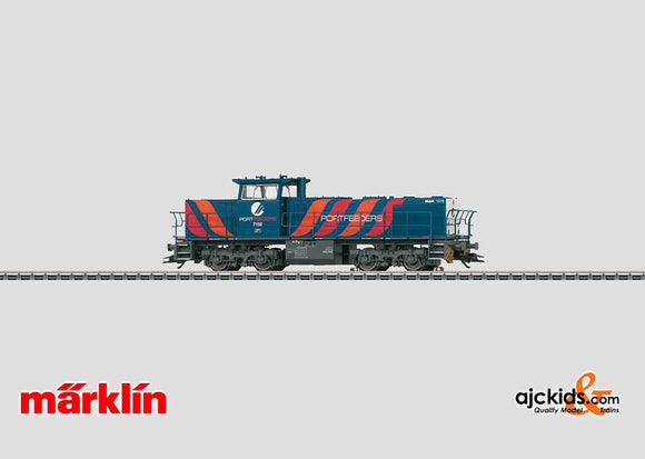 Marklin 37626 - Diesel Locomotive MaK 1206 Portfeeders in H0 Scale