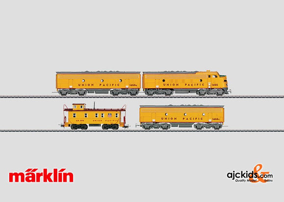 Marklin 37629 - Diesel Electric Locomotive F 7 A-B-B UP in H0 Scale