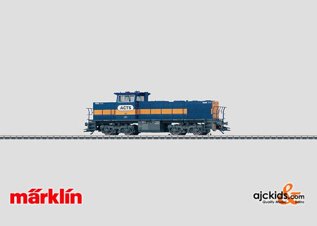 Marklin 37635 - Diesel Locomotive Type MaK 1206 ACTS in H0 Scale