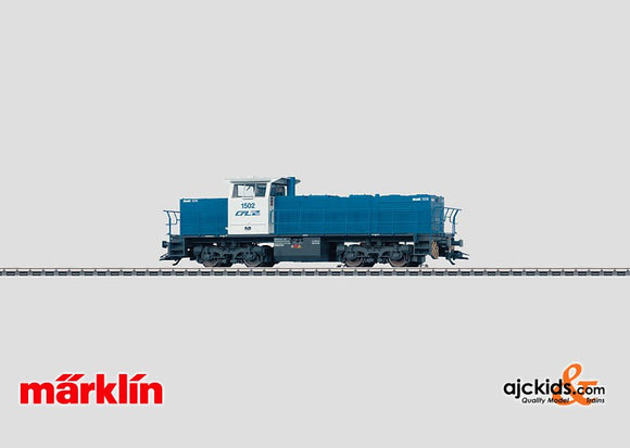 Marklin 37636 - Diesel Locomotive Type MaK 1206 in H0 Scale