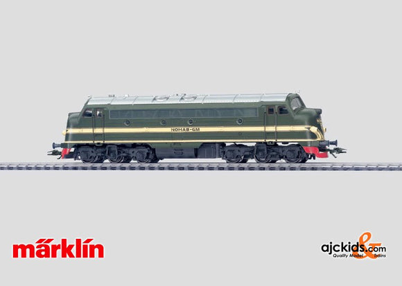Marklin 37665 - Demonstrator Diesel Locomotive in H0 Scale