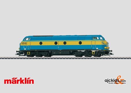 Marklin 37678 - Diesel Locomotive class 55 in H0 Scale