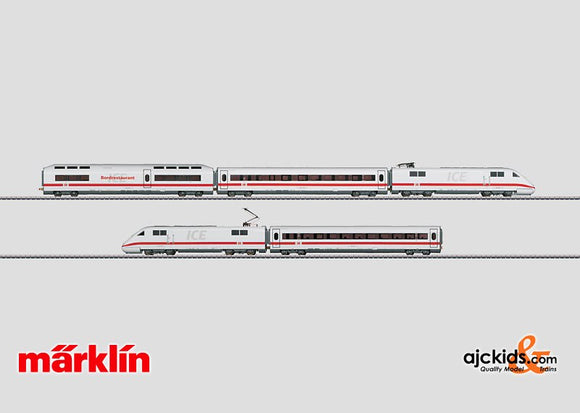 Marklin 37703 - Powered Rail Car Train ICE 1 in H0 Scale