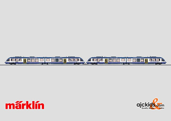 Marklin 37733 - Diesel Powered Commuter Cars in H0 Scale