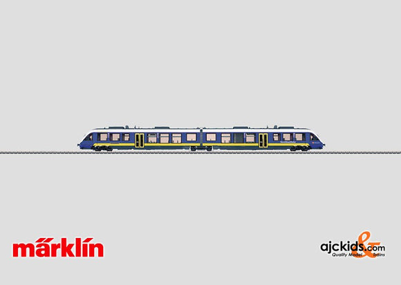 Marklin 37734 - Diesel Powered Commuter Cars NWB in H0 Scale