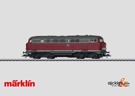 Marklin 37740 - Diesel Locomotive BR 216 Lollo (Exclusiv - Sound) in H0 Scale
