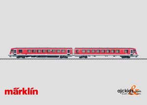 Marklin 37763 - Diesel Powered Rail Car Train class 628.2 in H0 Scale