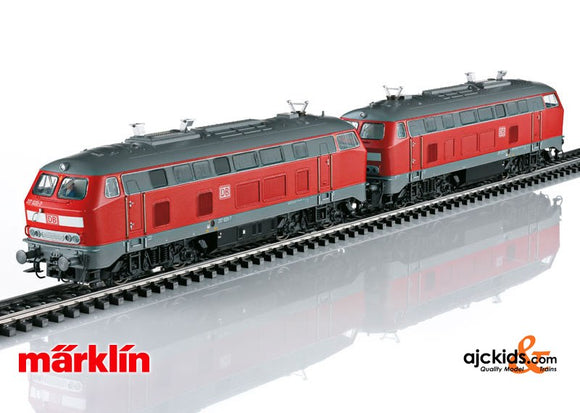 Marklin 37769 - Diesel Locomotive Double Unit Set BR217 in H0 Scale