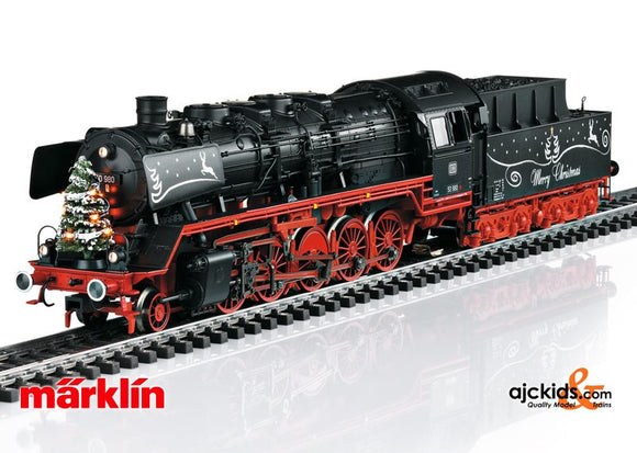 Marklin 37838 - Christmas Steam Locomotive with a Tender