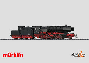 Marklin 37843 - Steam Locomotive with a Tender BR 50 in H0 Scale