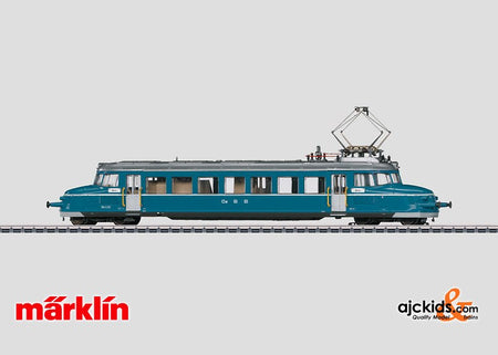 Marklin 37867 - Electric Railcar Blue Arrow, series RBe 2 / 4 in H0 Scale