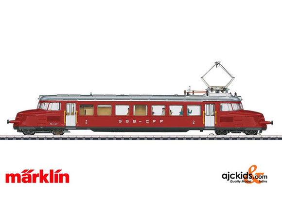 Marklin 37868 - Class RBe 2/4 Electric Express Powered Rail Car in H0 Scale