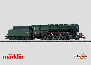 Marklin 37886 - Steam Locomotive with Tender in H0 Scale