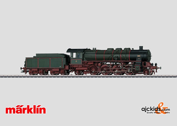 Marklin 37939 - Steam Passenger Locomotive with a Tender