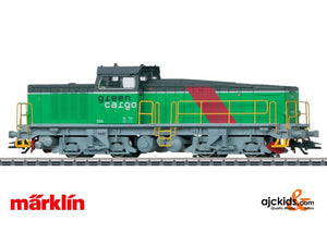 Marklin 37943 - Heavy Diesel Locomotive T44 Green Cargo