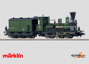 Marklin 37974 - Steam Locomotive with Tender in H0 Scale