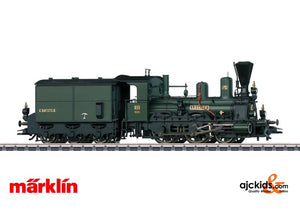 Marklin 37982 - Steam Locomotive with a Tender in H0 Scale