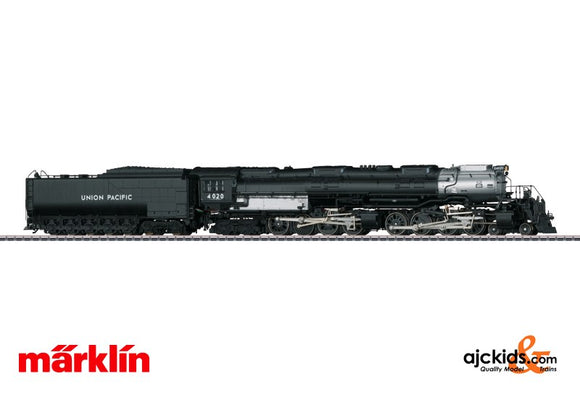 Marklin 37996 - Steam Locomotive with Tender 4020 Big Boy MFX+ in H0 Scale