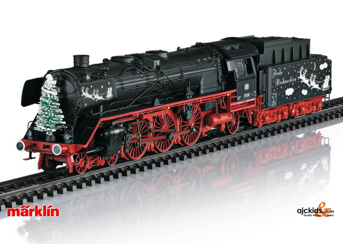 2020 Marklin Christmas Engine Cost Marklin 39006   Class 01 Steam Locomotive Christmas in H0 Scale