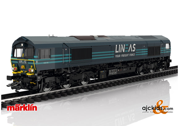 Marklin 39062 - Class 66 Diesel Locomotive Lineas (Smoke)
