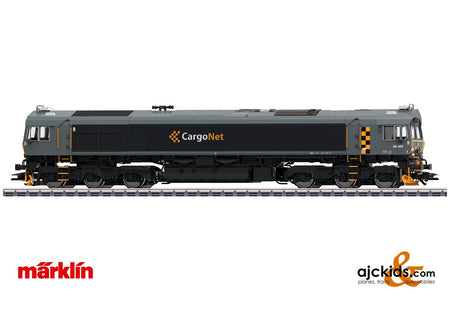 Marklin 39063 - Class 66 Diesel Locomotive CargoNet (Smoke)