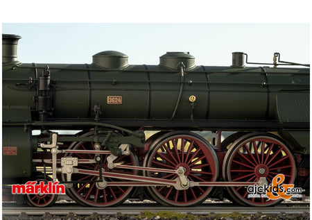 "Marklin 39436 - Class S 3/6 Steam Locomotive, the ""Hochhaxige"" / ""High Stepper"""