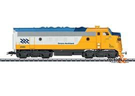 Marklin 39623 - Ontario Northland EMD F7 Diesel Electric Locomotive A Unit