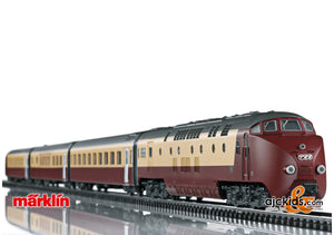 "Marklin 39706 - Class RAm TEE ""EDELWEISS"" Diesel Powered Railcar Train"