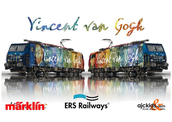 Marklin 39864 - Vincent van Gogh Electric Locomotive ES 64 F4-206 in H0 Scale