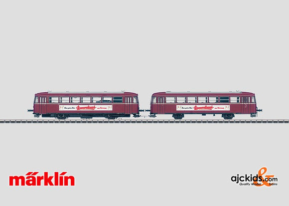 Marklin 39982 - Rail Bus with Control Car Doornkaat in H0 Scale