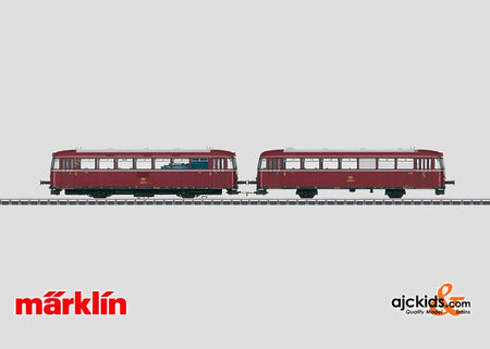 Marklin 39987 - Rail Bus with Control Car BR 798 + 998 in H0 Scale