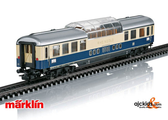 Marklin 40850 - Rheingold Tin-Plate Car Set (retro) in H0 Scale