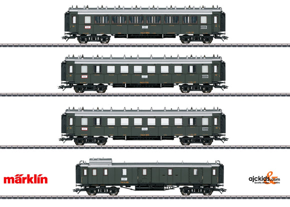 Marklin 41354 - Palatine Railroad Express Train Passenger Car Set