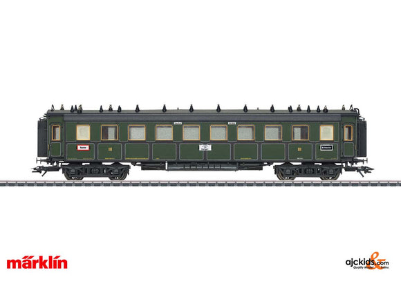 Marklin 41358 - K.Bay.Sts. Type CCu Express Train Passenger Car 3rd class