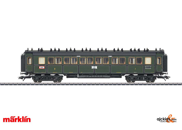 Marklin 41369 -  K.Bay.Sts. Type ABBu Express Train Passenger 1st/2nd class in H0 Scale