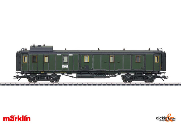 Marklin 41379 - K.Bay.Sts. Type PPu Express Train Passenger Car in H0 Scale