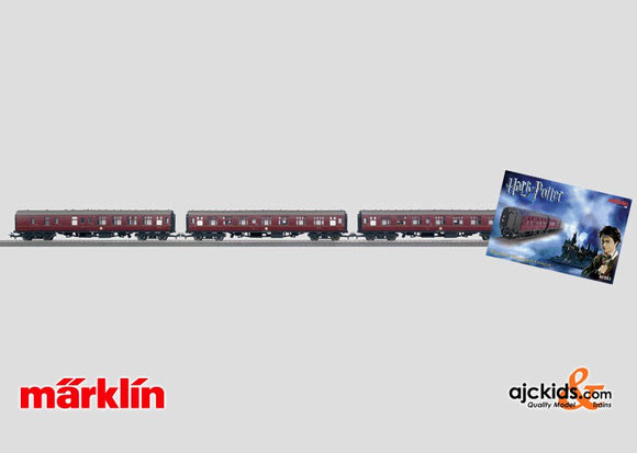 Marklin 41551 - Harry Potter 3-car set in H0 Scale