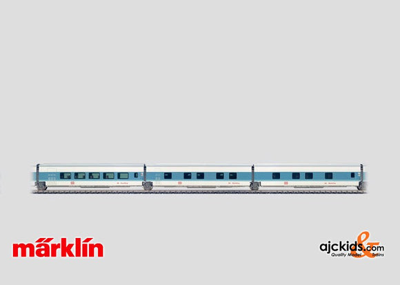 Marklin 41774 - Express train 3-car set in H0 Scale