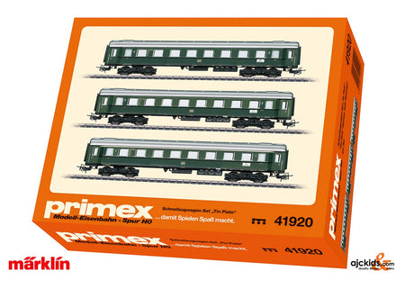 Marklin 41920 - Tin-Plate Express Train Passenger Car Set