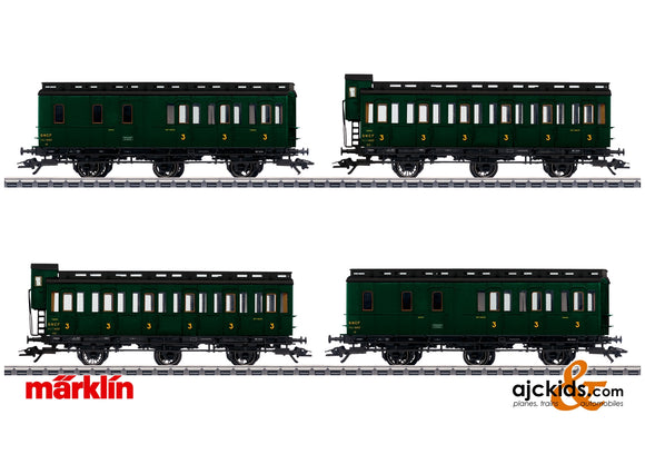 Marklin 42042 - Compartment Car Set