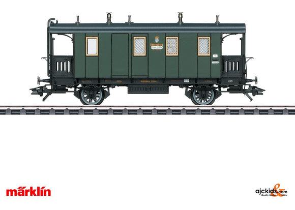 Marklin 42061 - Type PPostL Postal and Baggage Car in H0 Scale