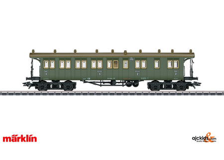 Marklin 42104 - Wurttemberg Type BCCI Passenger Car in H0 Scale