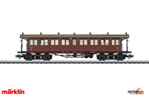 Marklin 42134 - Wurttemberg Type CCI Passenger Car in H0 Scale