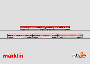 Marklin 42726 - EC Express Train Passenger Car Set