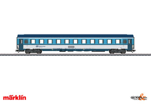 Marklin 42745 - Passenger Car; 2nd Class in H0 Scale