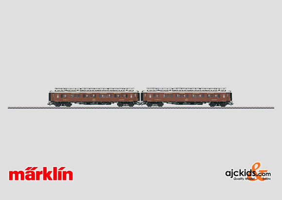 Marklin 42760 - Express Train Passenger Car Set *used*  (only with 42755) in H0 Scale
