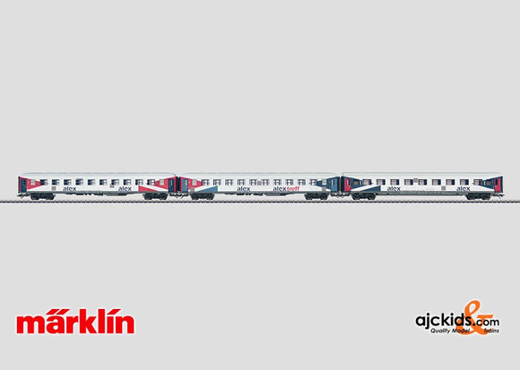Marklin 42953 - ALEX Passenger 3-Car set in H0 Scale